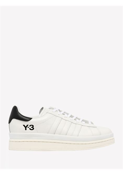 Women's white sneakers with print Y-3   Sneakers   S42846CWHITE/BLACK/OWHITE