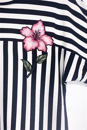 righe c/fiore Carla Ferroni | 7 | FER8815NERO