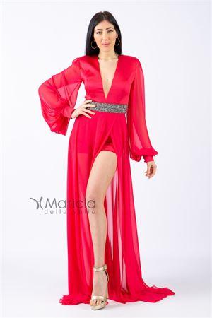 man.lunga c/fascia glitter. MARIA VITTORIA VINCI | 11 | MVV42361MAGENTA