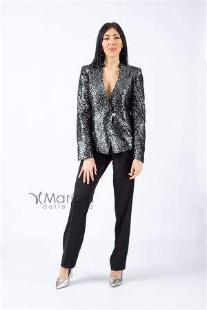 giacca paiette Maricla | 42 | RF9110NERO