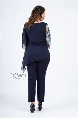casacca ric. + pant PAOLA FORTI | 42 | PF312BLU