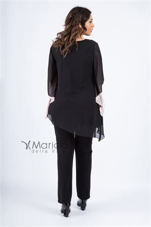 casacca ric. + pant PAOLA FORTI | 42 | PF3180NERO