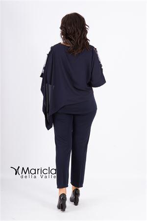 4 pz c/ric.+stola MARICLA ELEGANCE | 42 | RF9314BLU