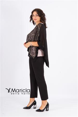 4 pz c/ric.+stola MARICLA ELEGANCE | 42 | RF9314NERO