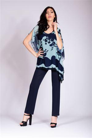 casacca floreale+pant. JANE | 42 | CINZIABLU