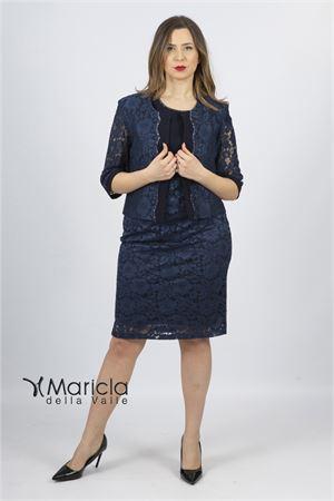 pizzo c/giacca Maricla elegance | 42 | ALE7952BLU