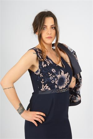tubino+giacca ric. Ludovica Hassler   42   LH123BLU