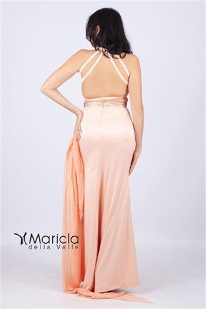 lungo sc/schiena c/paiette MARIA VITTORIA VINCI | 11 | MVV42158SALMONE