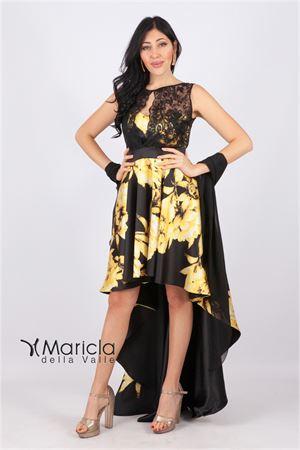 d/lungh. floreale MARIA VITTORIA VINCI | 11 | MVV42178GIALLO