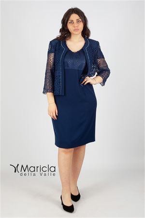 abito+giacca rete Maricla elegance | 42 | ALE2618BLU