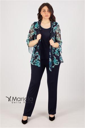 compl.3pz floreale MARICLA | 42 | BELGICOBLU/TIFFANY