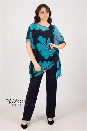 pant.c/casacca flor. Maricla elegance | 42 | ENNABLU