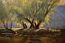 River Island by Kami Mendlik Oil ~ 24 x 36