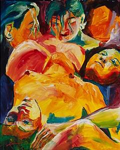 Sarah 9-12-2011 by Michelle Leivan Acrylic ~ 20 x 16