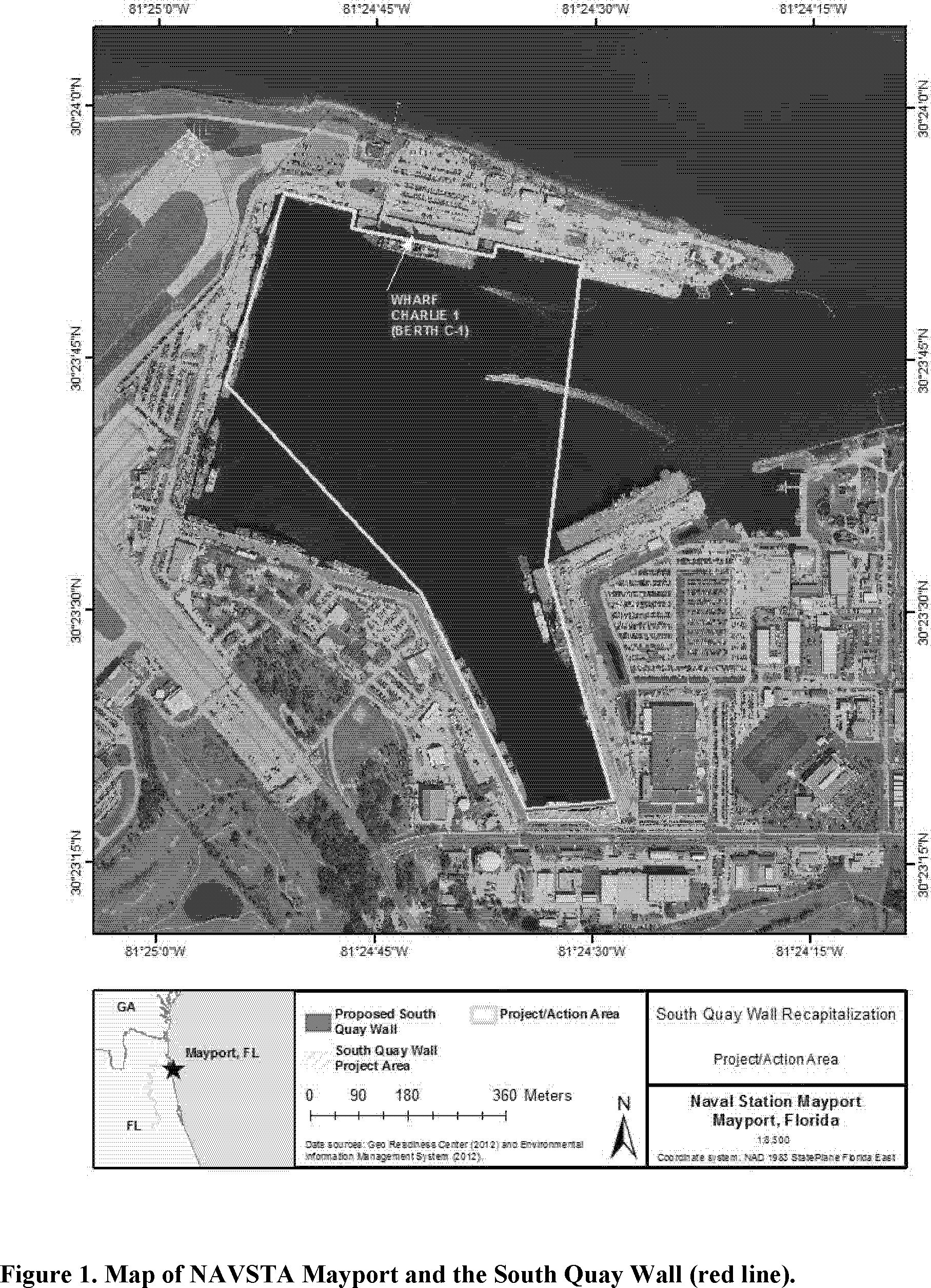 Federal Register Takes Of Marine Mammals Incidental To Specified Activities Taking Marine Mammals Incidental To The South Quay Wall Recapitalization Project Mayport Florida