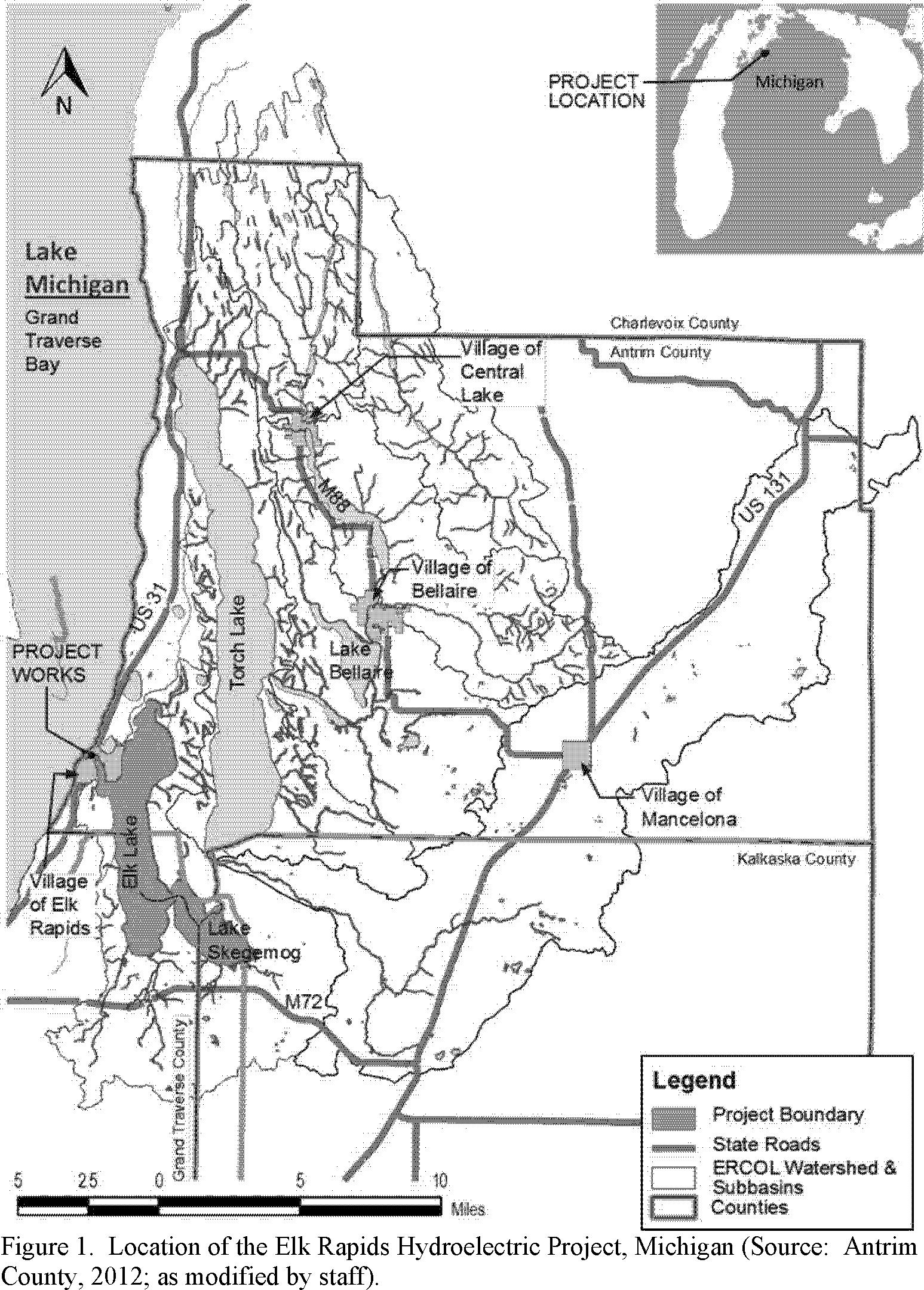 Michigan antrim county kewadin - Start Printed Page 29673