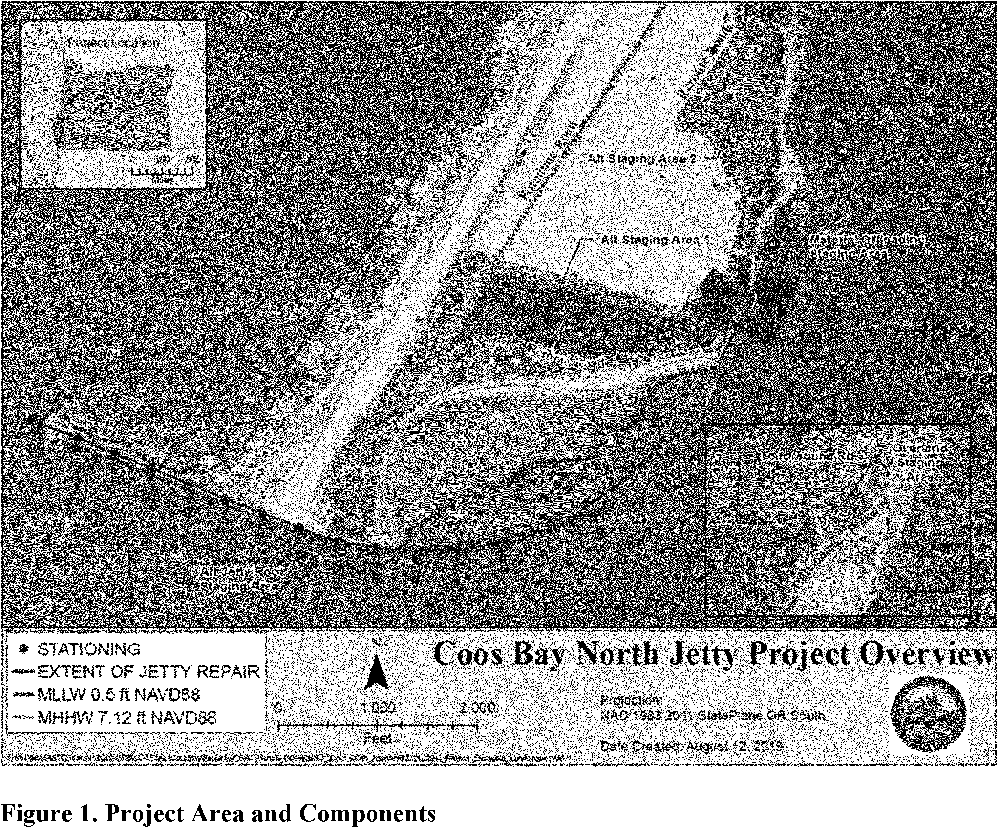 Federal Register Take Of Marine Mammals Incidental To Specified Activities Taking Marine Mammals Incidental To The North Jetty Maintenance And Repairs Project Coos Bay Oregon