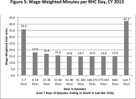 documents medicare program hospice wage payment rate update quality reporting