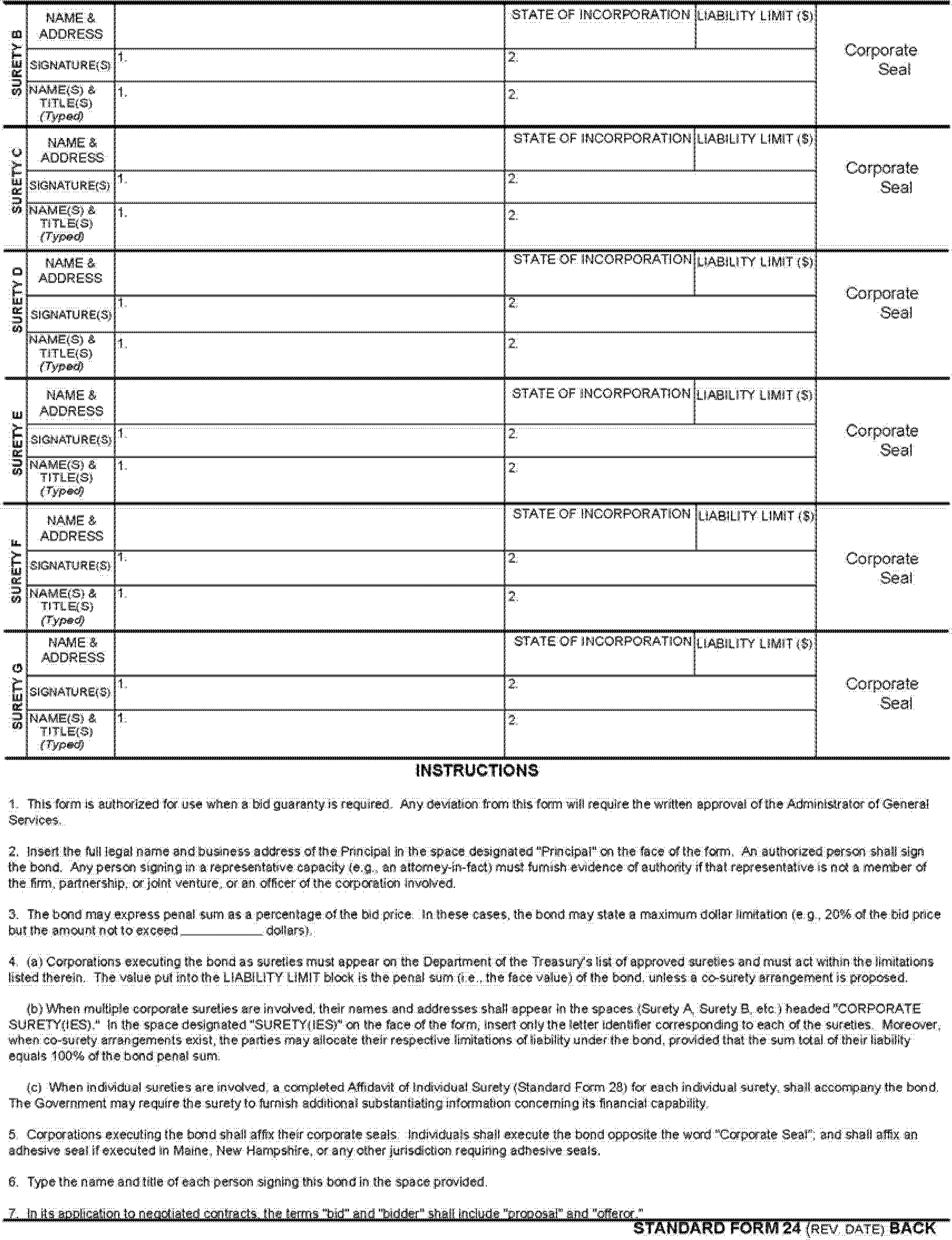 Gsa Form 91 Mersnoforum
