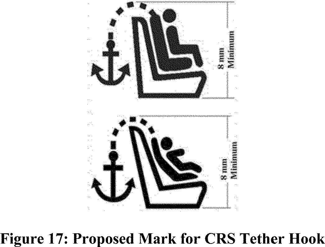 Federal Register Motor Vehicle Safety Standards Child Wire Harness Print We Tentatively Believe That Requiring A Crs Tether Hook Or Strap Be Marked With The Same Standardized Symbol As Vehicles Anchorage Would