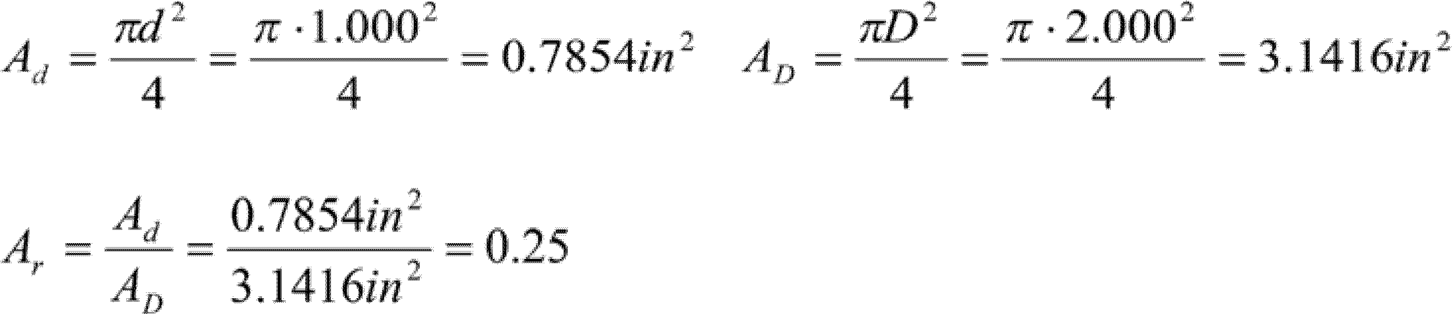 orifice beta ratio calculation pdf