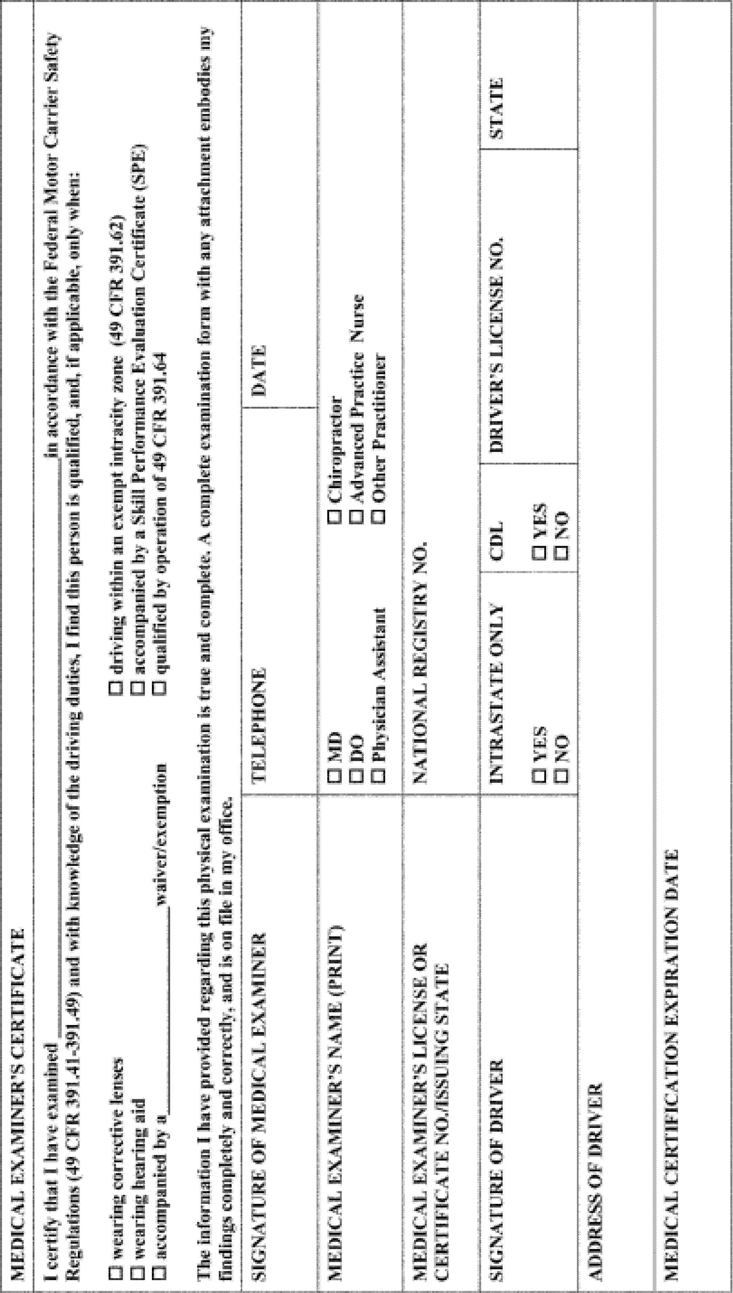 Federal Register :: Medical Examiner's Certification Integration ...