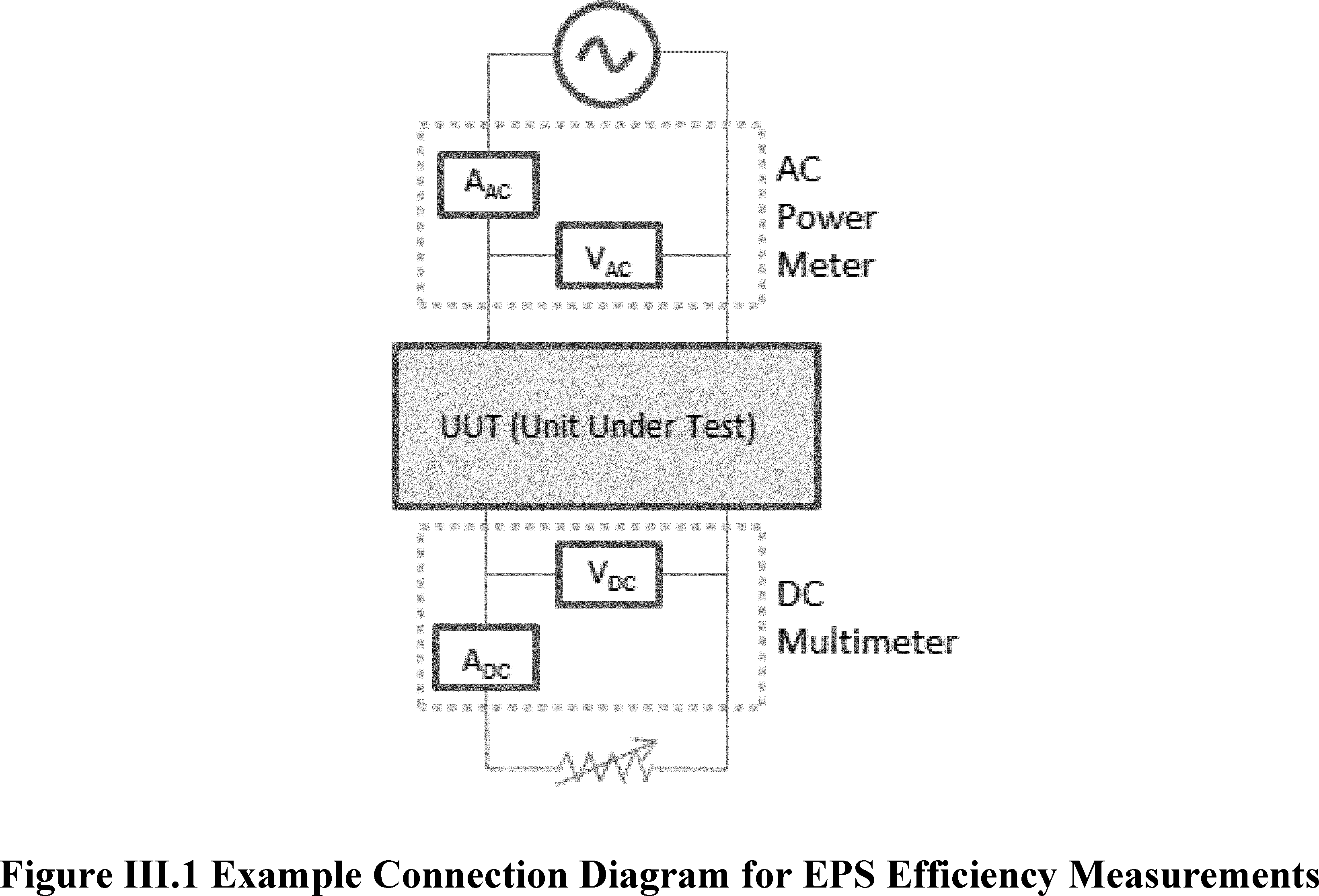 Federal Register Energy Conservation Program Test Procedures For Power Supply Circuit Moreover Dc Furthermore This Diagram Only Illustrates One Possible Connection Assuming A Single Voltage Eps But Doe Believes It Will Also Help To Provide Further Aid