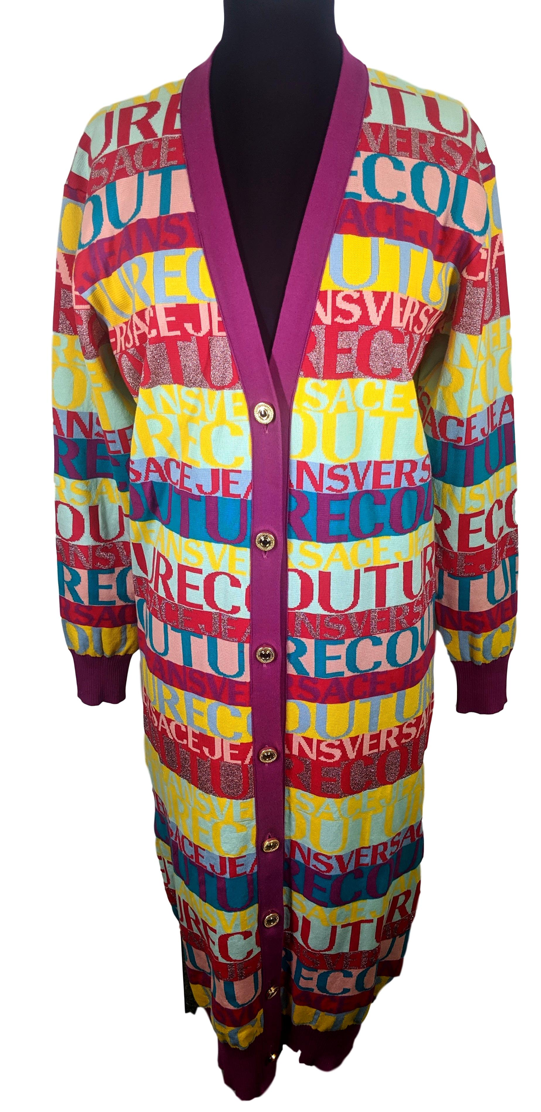 CARDIGAN VERSACE JEANS COUTURE VERSACE JEANS COUTURE | Maglia | B4HUA81950295LS8