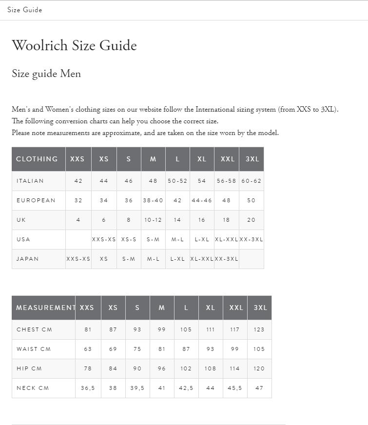 WOOLRICH UOMO |  | WOCPS2896 UT0001FRE