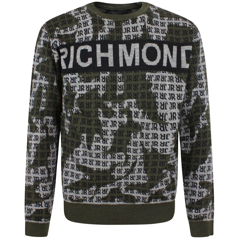 JOHN RICHMOND MAGLIONE RICHMOND JOHN | Maglione | RMA20311MA\CAMOUFLAGE