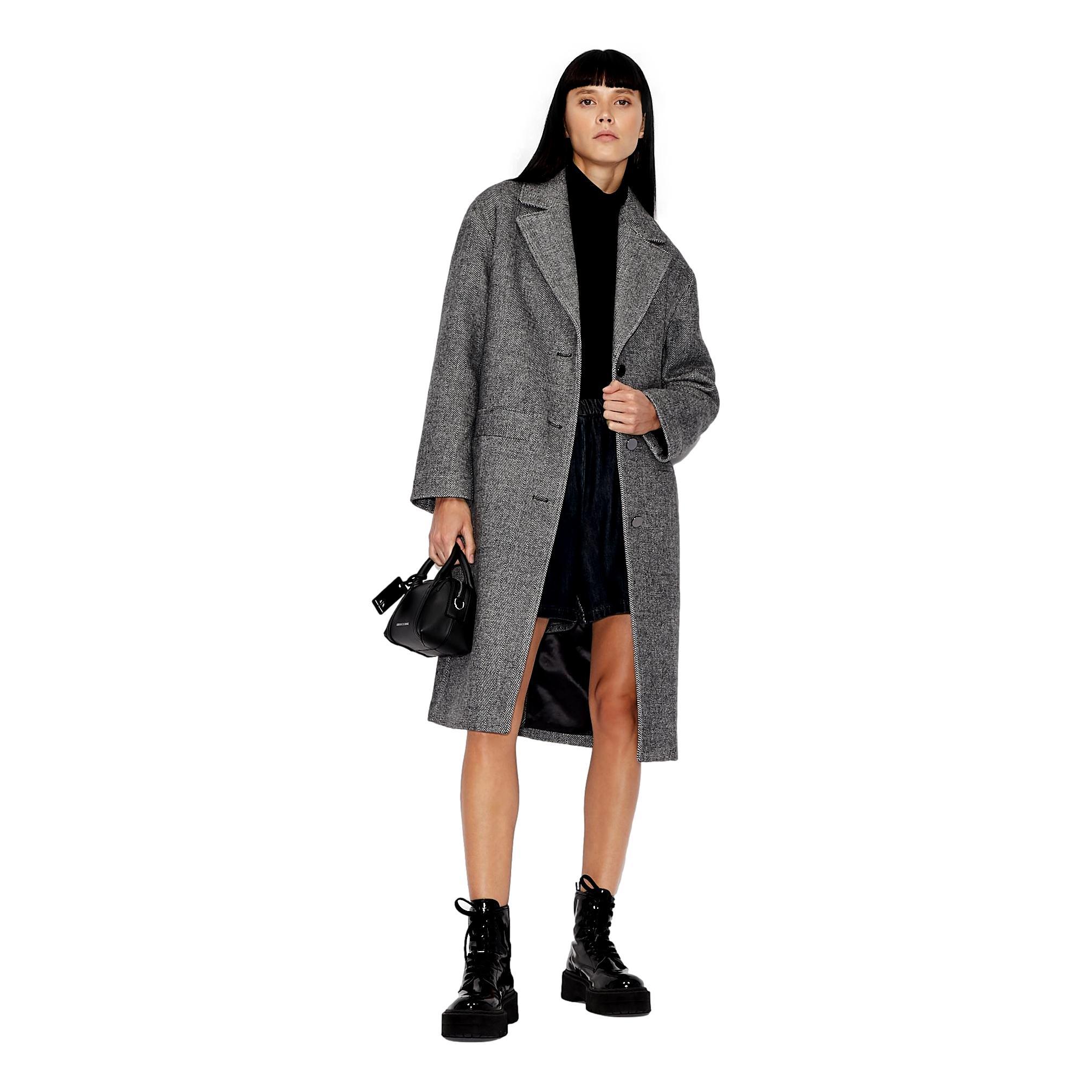 Oversized coat ARMANI EXCHANGE      6KYL18 YNUQZ5980