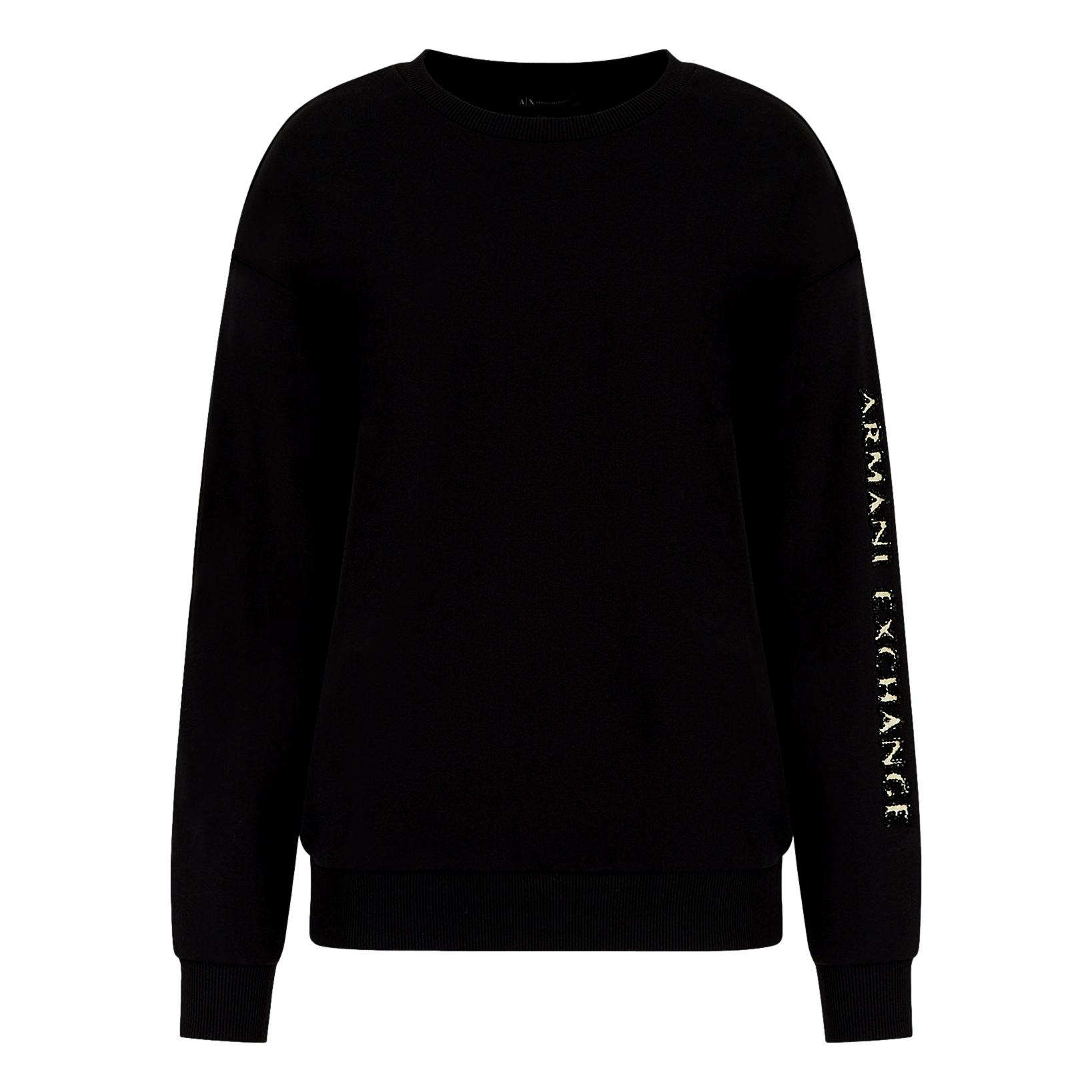 Sweatshirt with logo on the arm ARMANI EXCHANGE |  | 6KYM48 YJ6PZ1200
