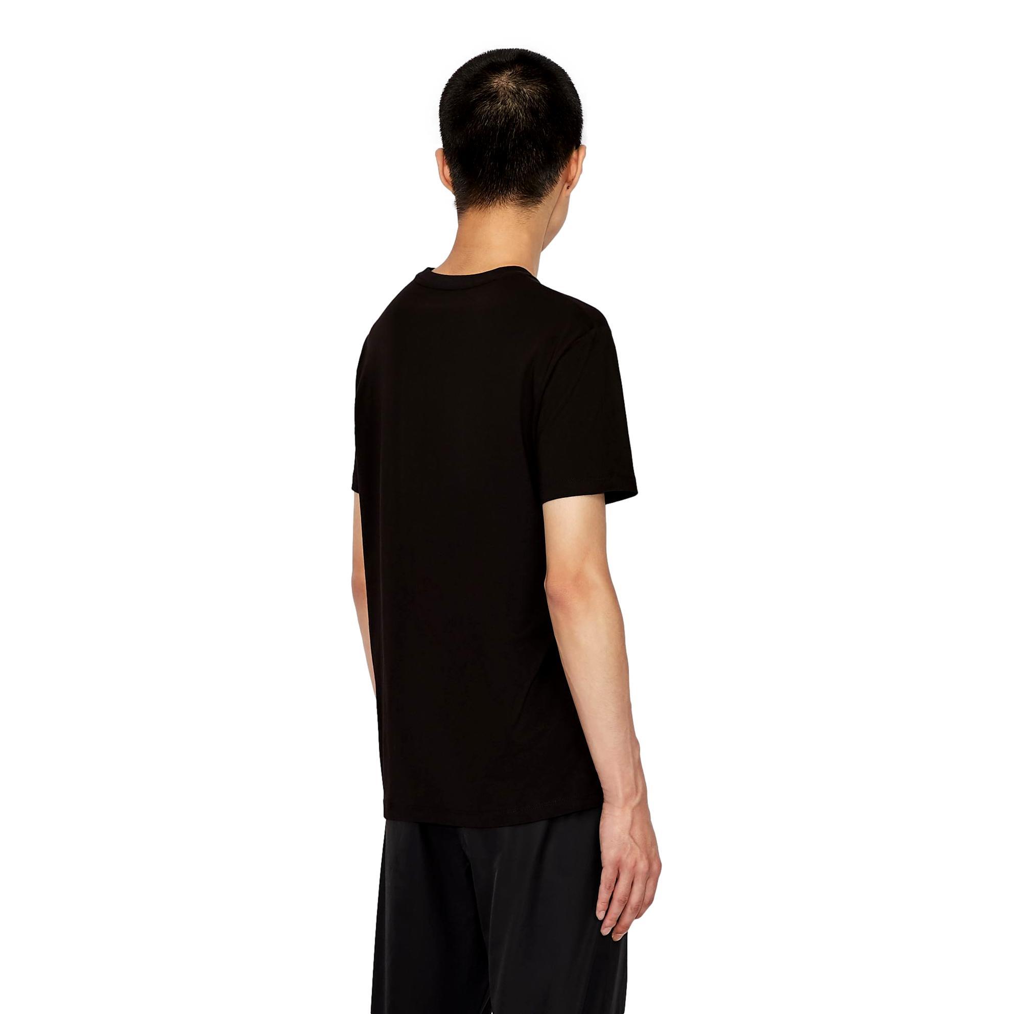 Slim fit T-shirt with shiny maxi-logo ARMANI EXCHANGE |  | 6KZTFA ZJBVZ1200
