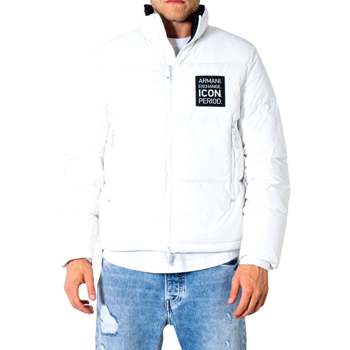 Down-filled puff jacket with Icon period logo ARMANI EXCHANGE |  | 8NZBP2 ZNYNZ1100