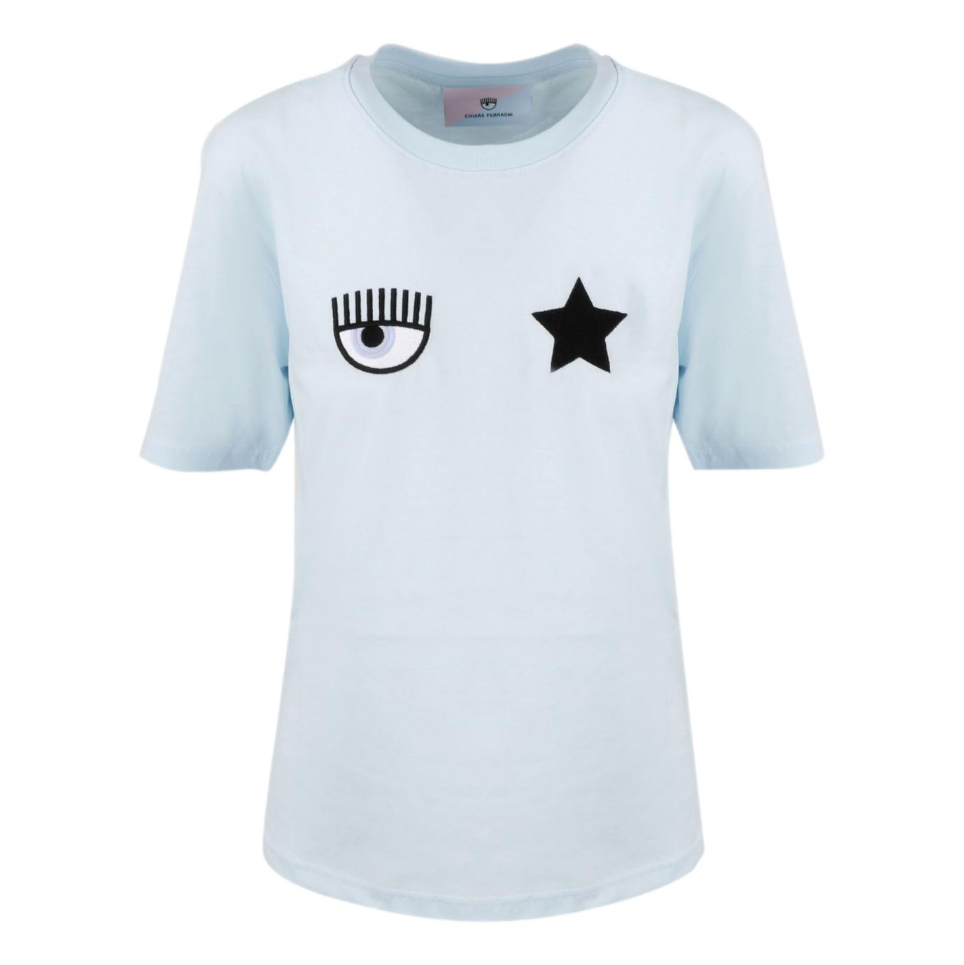 T-shirt con ricamo CHIARA FERRAGNI | T-shirt | 71CBHT01 CJC0T216