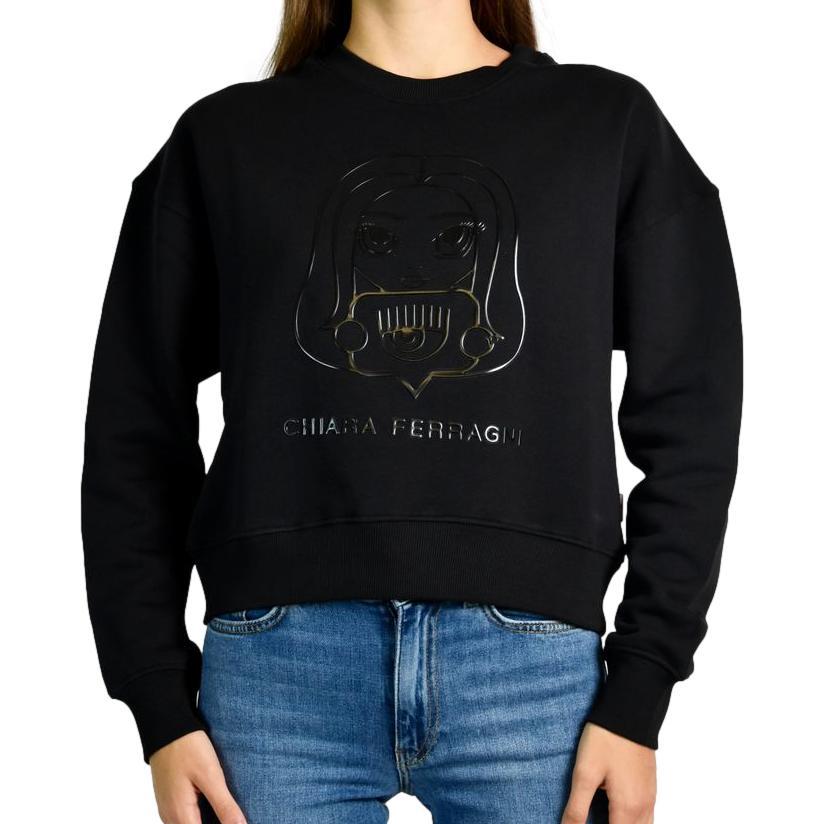 Rubber Mascot Sweatshirt CHIARA FERRAGNI      71CBIT12 CFC0T899