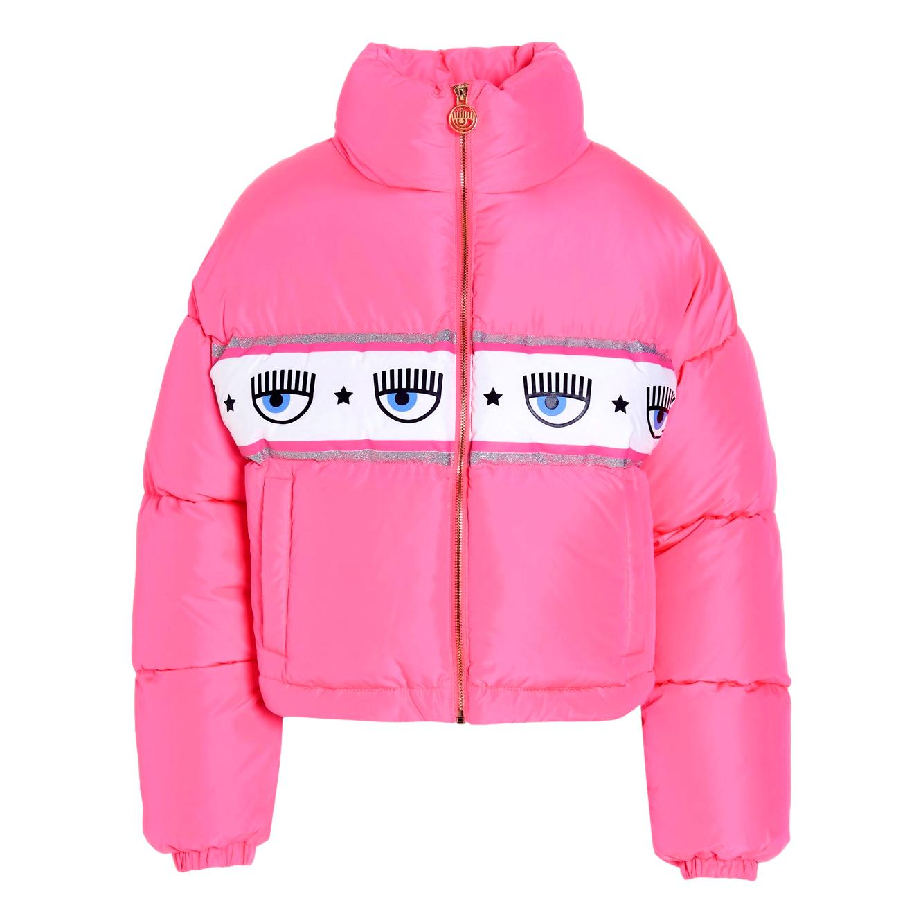 Puffer jacket crop 'Logo Mania' CHIARA FERRAGNI |  | 71CBU470 CQS17437