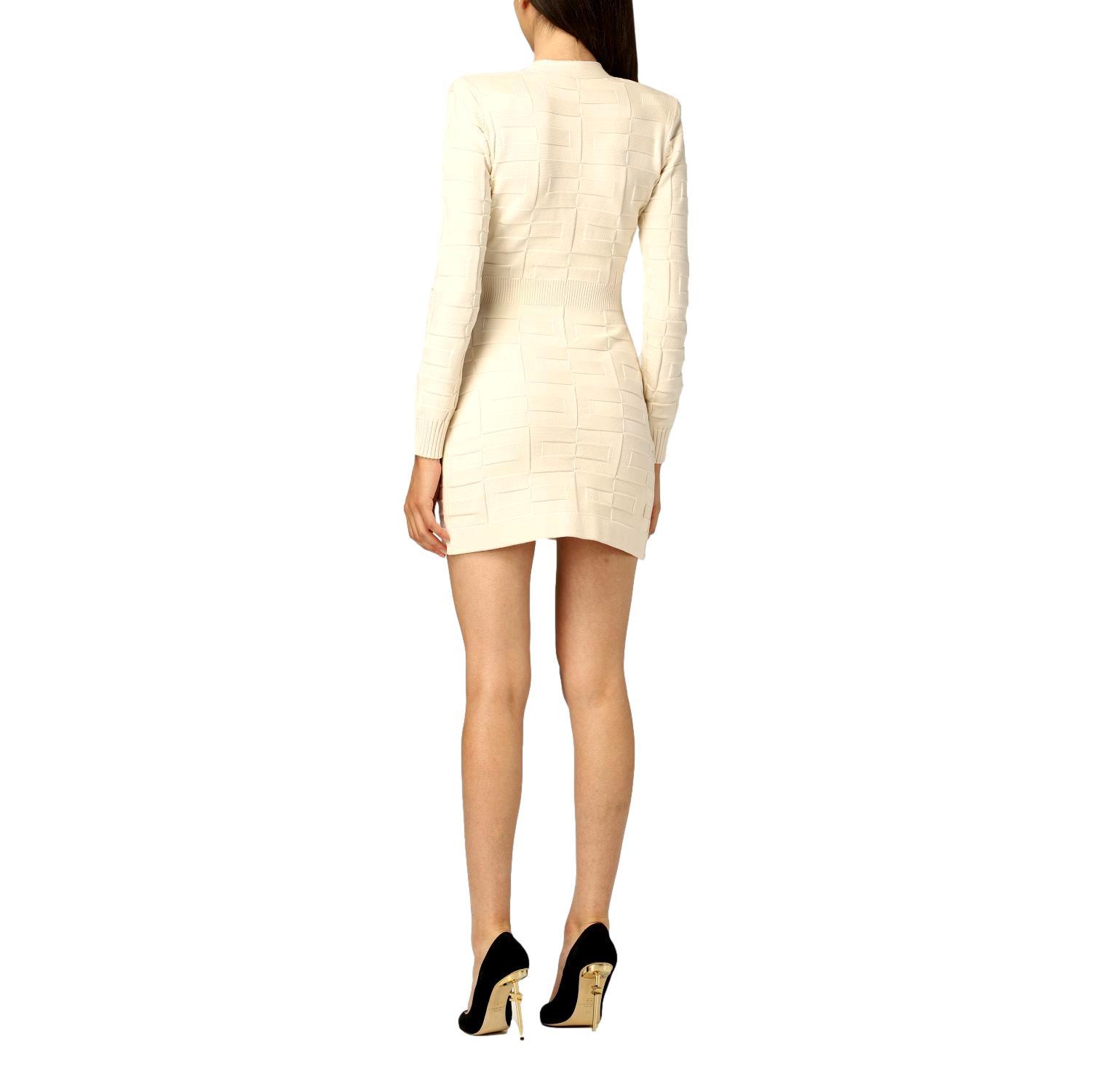 Robe manteau dress with logo pattern ELISABETTA FRANCHI |  | AM23S16E2193