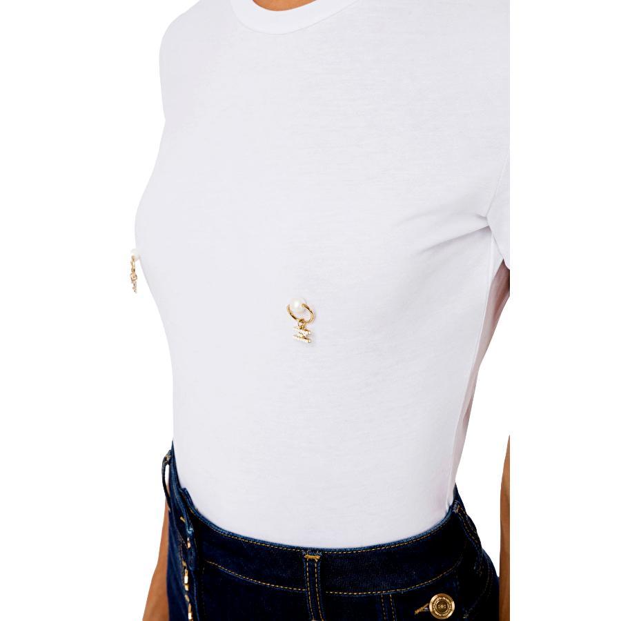 T-shirt with piercing application ELISABETTA FRANCHI |  | MA20616E2270