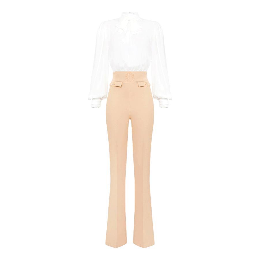 Tuta combinata con camicia e pantalone ELISABETTA FRANCHI   Tute   TU26116E2AE4