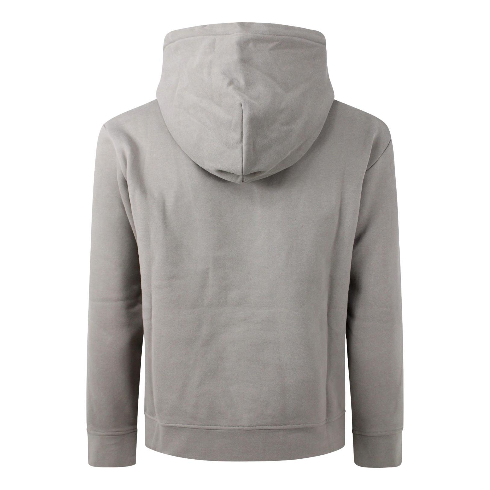 Gray hooded sweatshirt for men EMPORIO ARMANI |  | 6K1M92 1JQKZ0110