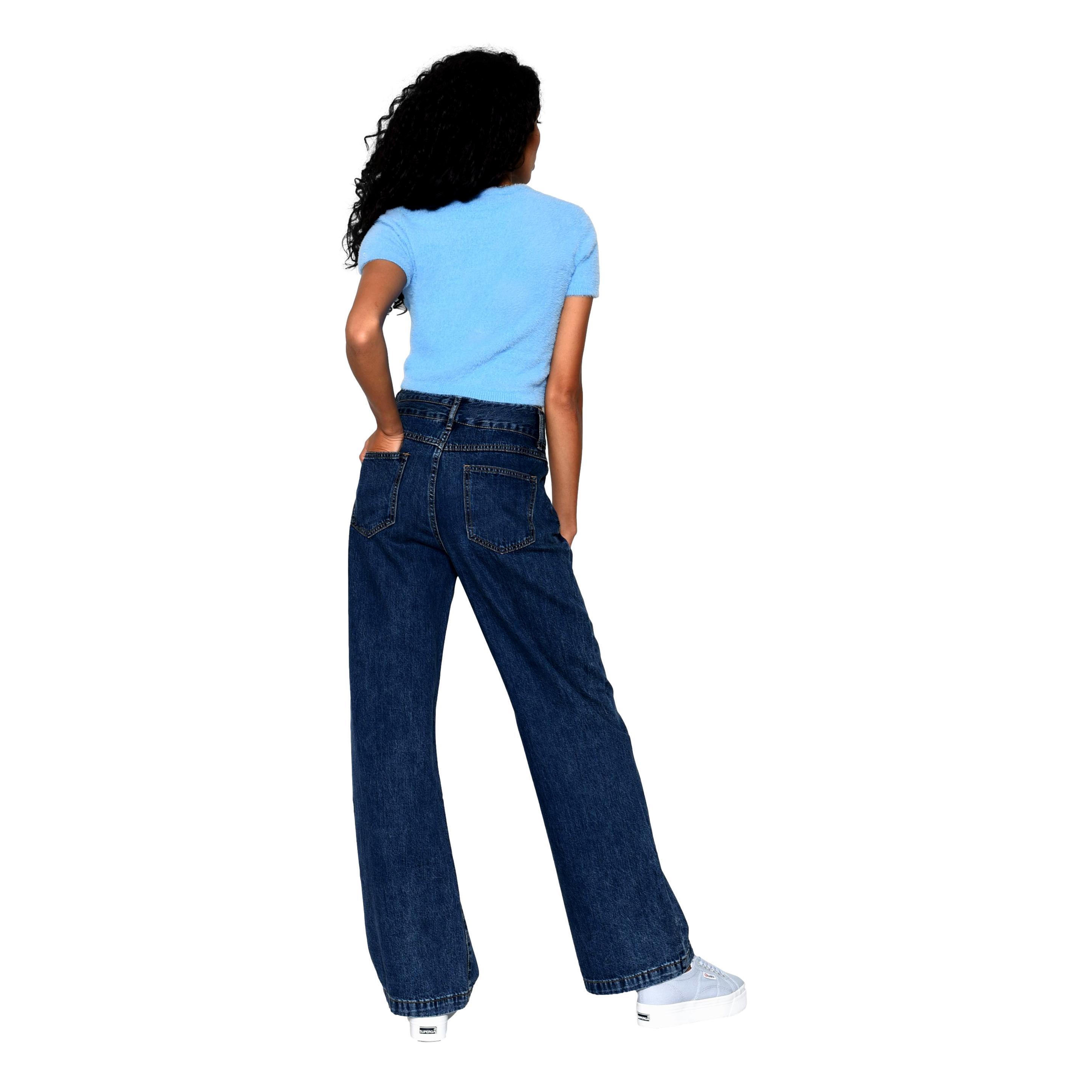 JEANS A PALAZZO  STONEWASH GLAMOROUS | Jeans | KA6877STONEWASH