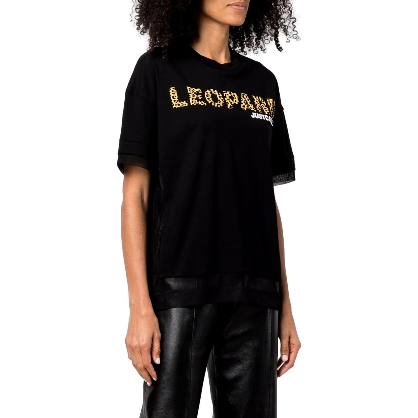 T-shirt with stamp JUST CAVALLI |  | S04GC0403 N20663971