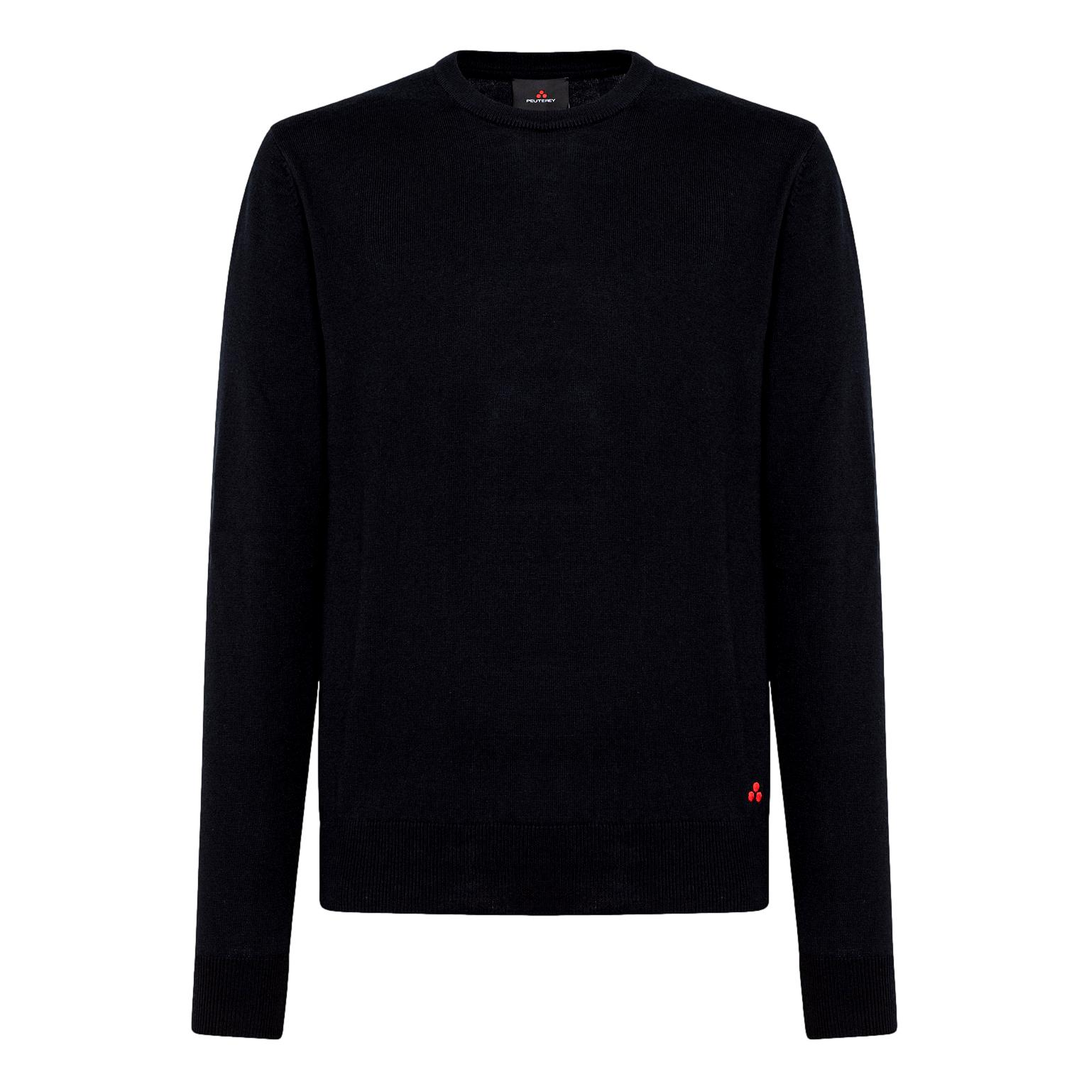 COTTON AND WOOL TRICOT SWEATEREXMOOR 04 PEUTEREY      PEU3638 99011919215