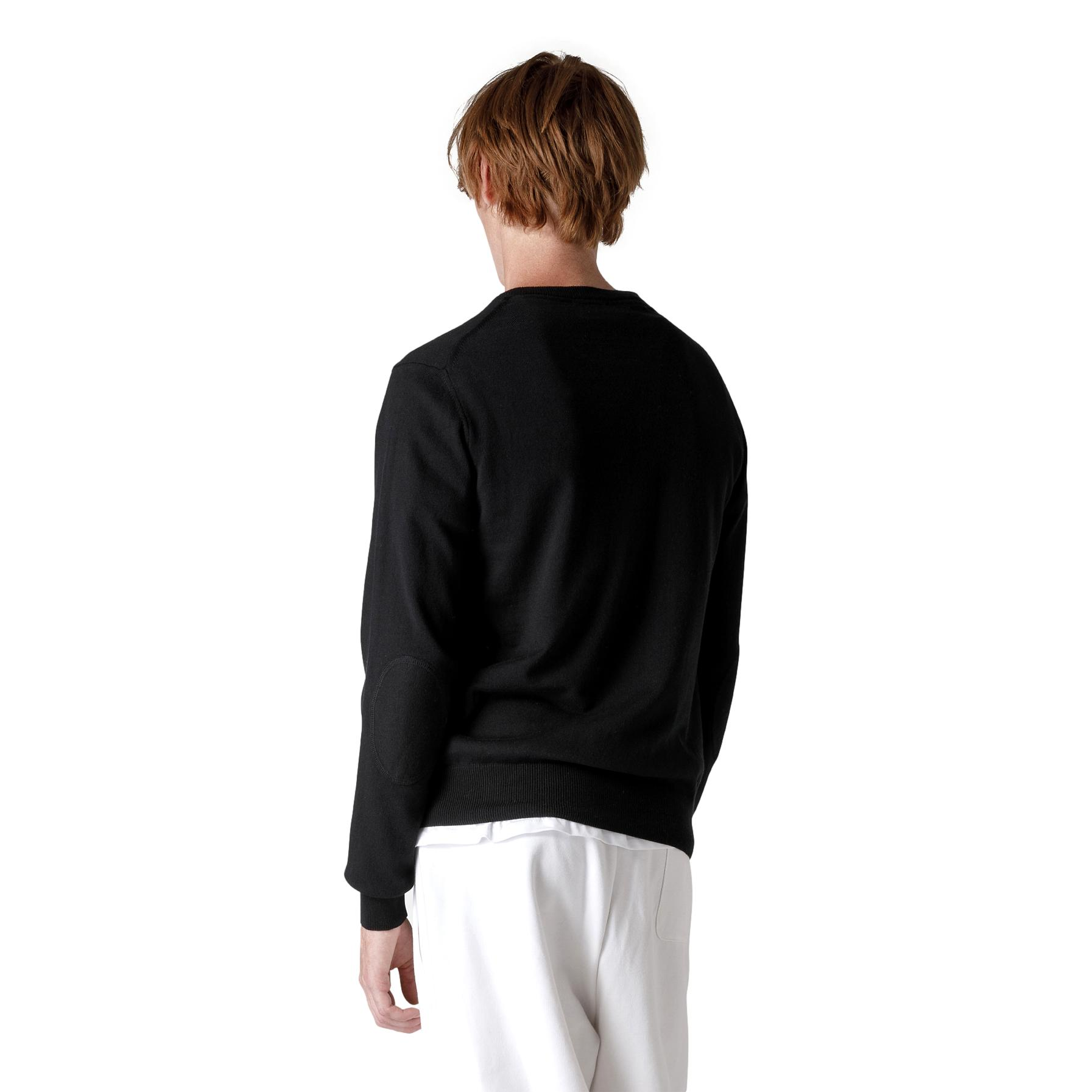 COTTON AND WOOL TRICOT SWEATEREXMOOR 04 PEUTEREY |  | PEU3638 99011919NERO