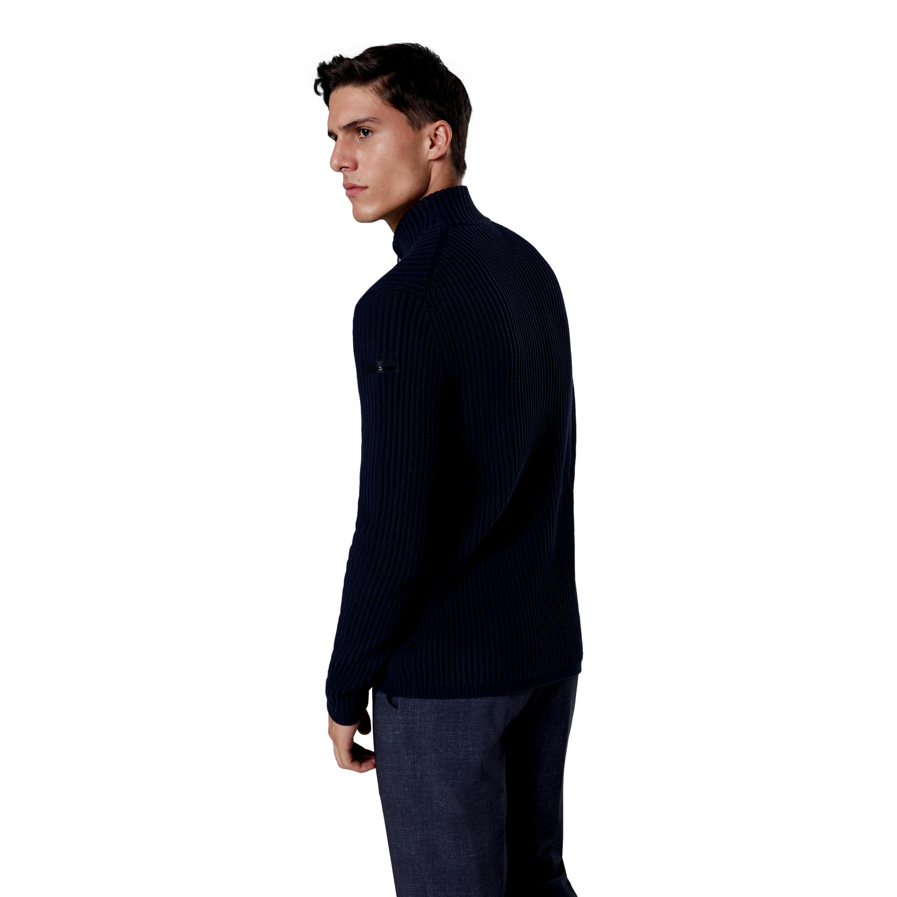 knit cotton 7 zip RRD | Maglie | W2111960