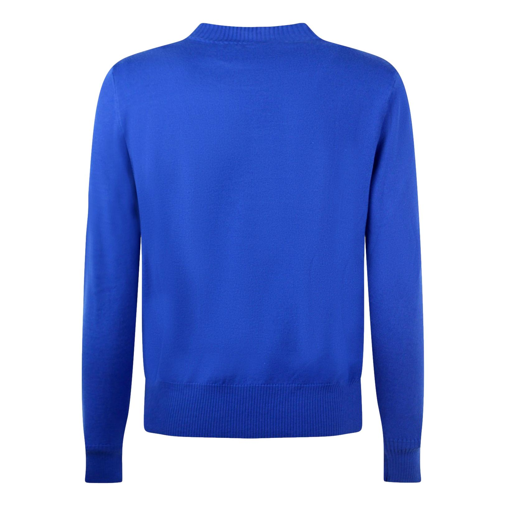 Sweater with contrasting logo VERSACE JEANS COUTURE      71GAF803 CM01MOB2