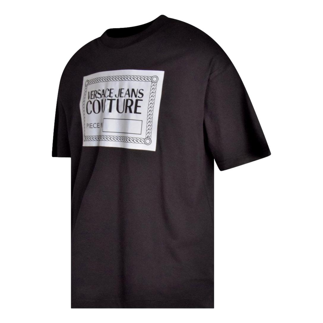 T-shirt with reflective logo VERSACE JEANS COUTURE |  | 71GAHT15 CJ00T899