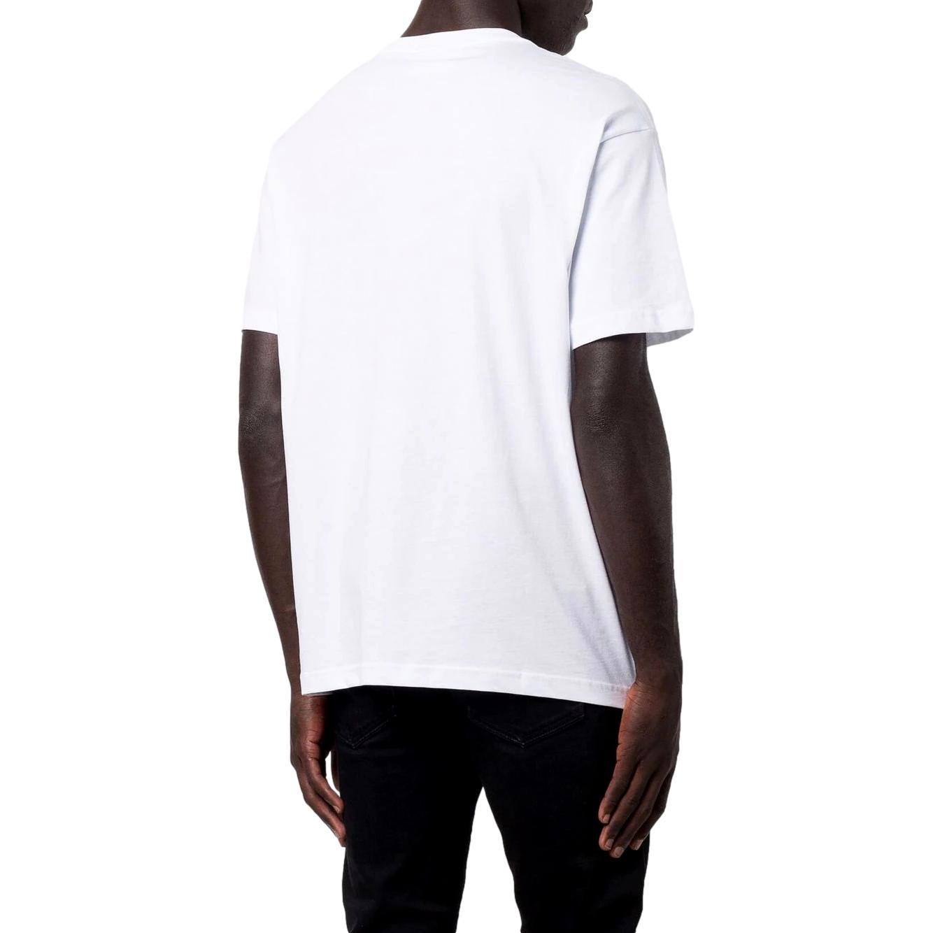 T-shirt girocollo con stampa riflettente VERSACE JEANS COUTURE   T-shirt   71GAHT16 CJ00T003
