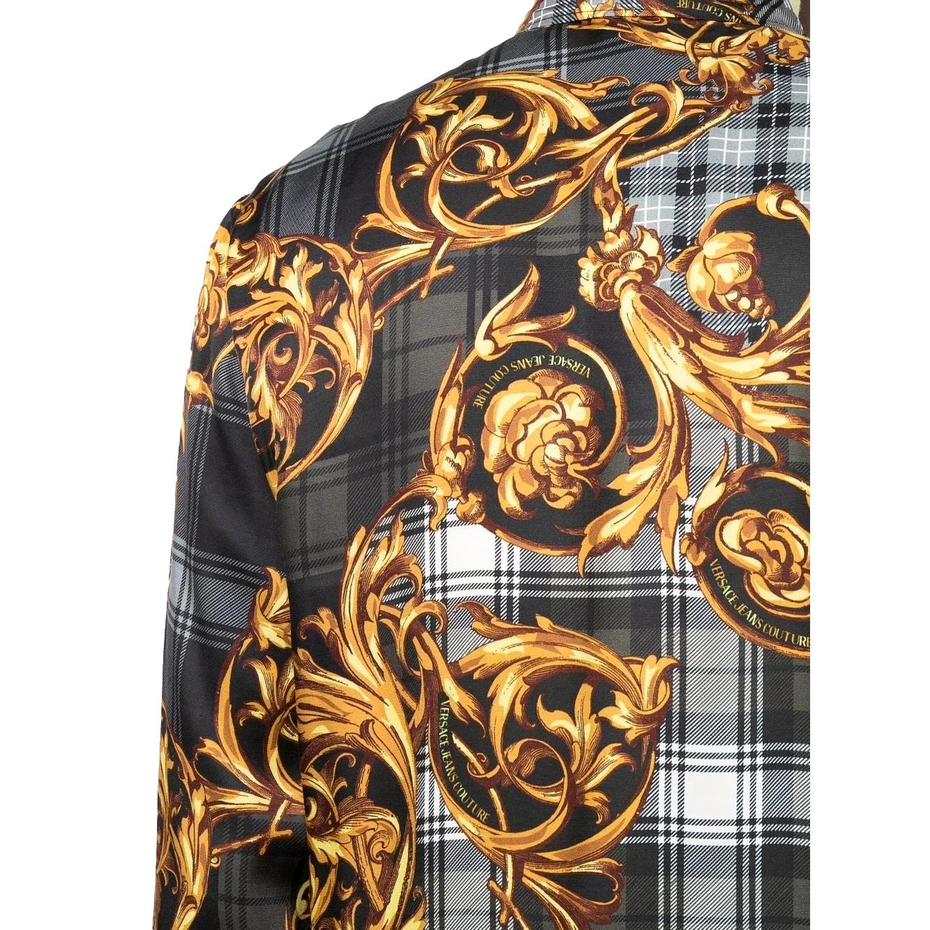 Camicia con stampa VERSACE JEANS COUTURE | Camicie | 71GAL2R6 NS029G80